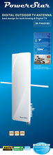 HDTV 1080P Outdoor Antenna Digital HD TV 360 Flat Omni Directional UHF/VHF/FM