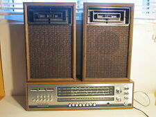 Vintage Telefunken Concertino 205. Multiband hifi stereo radio with speakers (re