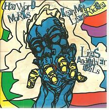 "HOWARD MARKS reads Kermit Leveridge- Lies and Other Fools - 2014 UK 7"" vinyl p/s"