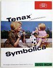 ZEISS IKON Prospekt TENAX automatic SYMBOLICA Kamera Broschüre (X2411