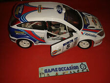 FORD FOCUS RALLY N°5 RACING BURAGO 1/18 METAL VOITURE MINIATURE CAR