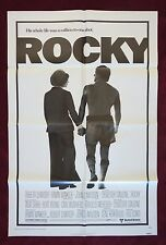 ROCKY * ORIGINAL MOVIE POSTER 1976 1SH 27X41 VINTAGE BOXING UNUSED NM
