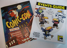 San Diego Comic Con International SDCC 2015 Promo Events Guide & Souvenir Book