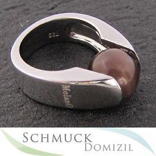 """NEU - """"MelanO Silber"""" Ring  für Kugeln mit 10 mm Durchmesser - Gr. 57"""