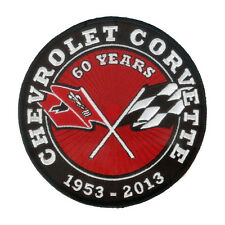 "New 4 3/4"" Embroidered Patch - Chevrolet Corvette 1953 - 2013 / Chevy Corvette"
