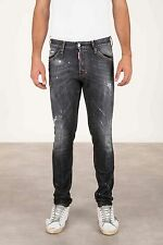 Dsquared2 Men's Cool Guy Jeans Denim 34/32 Black Distress s71la0982 s30357 900