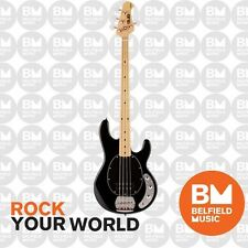 Sterling by Music Man Ray4 Sub Series Bass Guitar Black StingRay Ray 4 String
