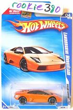 2009 Hot Wheels DREAM GARAGE #150 ∞ LAMBORGHINI MURCIELAGO ∞ ORANGE VARIANT USLC