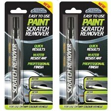 2 X CAR SCRATCH REMOVER REMOVAL PEN PAINT TOUCH UP REPAIR ANY COLOR VEHICLE 3108