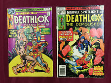 Astonishing Tales 33-35 FN Lot! Deathlok Classics B@@yah!