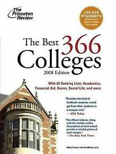 The Best 366 Colleges (Princeton Review: The Best ... Colleges),GOOD Book