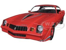 1979 CHEVROLET CAMARO Z/28 RED WITH BLACK STRIPES 1/18 BY GREENLIGHT 12901