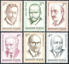 Hungary 1988 Science/Nobel Prize/Medicine/Chemistry/Physics/People 6v set n41858