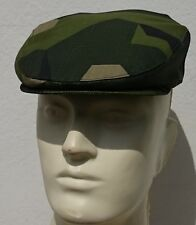 Flat Cap / Ivy Cap Swedish M90 camo , Drivers Cap Size Large - Made in Germany