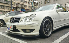 NEW FOR MERCEDES BENZ W203 C32 & AMG PACKAGE CARBON FRONT LIP SPOILER