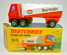 "Matchbox SF Nr. 63B Freeway Gas Tanker ""Burmah"" top in Box"