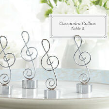 Set of 24 Music Love Note Place Card Holders Wedding Table Decorations