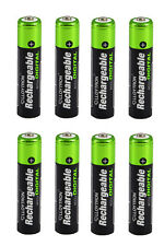 8 x LLOYTRON 900 mAh AAA RECHARGEABLE Ni-MH BATTERIES IDEAL FOR CORDLESS PHONE