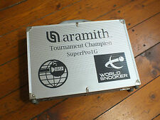 Aramith 1G Superpro World Champion Match Professional Snooker Balls in Case