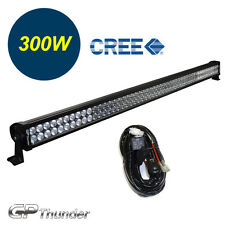 52 inch 6000K Off Road 300W CREE LED Lamp Work Light Bar SUV Jeep 4WD RELAY
