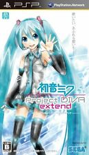 Used PSP Hatsune Miku: Project Diva Extend Japan Import ((Free shipping))