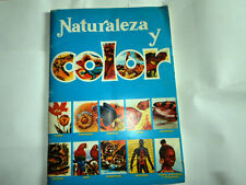 VINTAGE- ALBUM NATURALEZA Y COLOR - EDITORIAL CAREN . COMPLETO