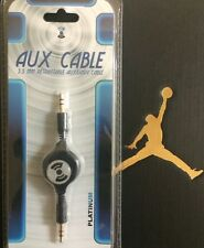 3.5mm RETRACTABLE AUXILIARY Cable Aux Audio Cord for iPhone Ipad iPod Android