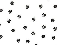 Little Paw Print on White Tissue Paper #333 / Gift Wrap - Dog / Cat / Pet