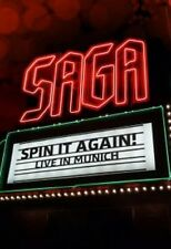 SAGA - SPIN IT AGAIN-LIVE IN MUNICH  DVD  20 TRACKS CLASSIC ROCK & POP  NEU