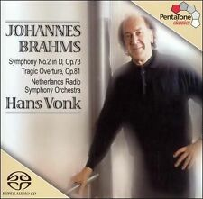 Brahms Symphony No. 2 in D / Tragic Overture Op. 81 (Multichannel Hybrid SACD) -