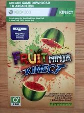 Fruit Ninja Kinect Download Card/key for Xbox 360  Full Game Download  No Disc