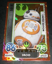 STAR WARS FORCE ATTAX EXTRA the force awakens limited edition LE-DA BB-8