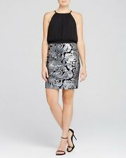Laundry by Shelli Segal New Bodice & Sequin Skirt Dress Size 2 MSRP$265 #B851