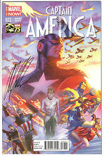 CAPTAIN AMERICA #22 ALEX ROSS 1:75 *SIGNED* COLOR VARIANT COA MARVEL 2014 VF/NM