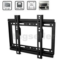 14-32'' TV Wall Mount Bracket For Universal Fixed Wall TV Stand Bracket Holder