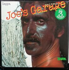 KLP138 - Frank Zappa - Joe's Garage Acts I, II & III - UK LIMITED ED 3LP BOX