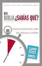 Biblia NVI - ¿Sabías Qué? : Datos Fascinantes Del Libro Más leído en la...