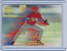 1999 SkyBox Premium #248S Pat Burrell RC SP - Phillies - Short Print Rookie