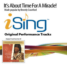 Beverly Crawford - It's About Time For A Miracle - Accompaniment Track