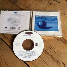 Tangerine Dream - The Private Music Of Tangerine Dream 1992 Cd