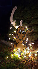 Grinch Yard art!  Max is  stealing your lights. Christmas!! yard art decoration