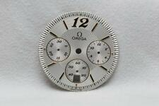 Genuine Gents Omega Argento Cronografo Quadrante - 27.8 mm
