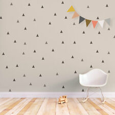 TRIANGLE Little Peaks Vinyl Wall Decals Stickers Kids Child Nursery Room Decor
