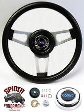"""1970-1979 Ranchero steering wheel BLUE OVAL 13 3/4"""" Grant steering wheel"""