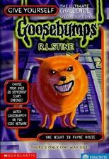 Give Yourself Goosebumps: One Night in Payne House No. 4 by R. L. Stine...