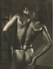 1940's Vintage Asian Male Nude Youth Ceylon Lionel Wendt Photo Gravure Print