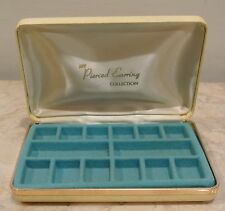 Vintage My Pierced Earring Collection Jewelry Box~ A