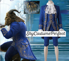 FREE WW SHIP 2017 Movie Beauty and The Beast Prince Adam Formal costume cosplay