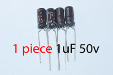 Capacitor Nippon 1uF 50v 105C 5x11mm. Radial. US Seller