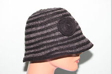 NEW August Accessories Grey Wool Cloche Hat NWT MSRP $36